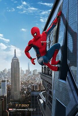 Spiderman Homecoming 2017 Movie Poster A4 Print