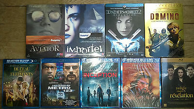 Lot de 5 Blu-ray neuf + 4 dvd collector