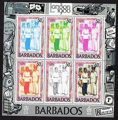 1980 Barbados London 1980 Int Stamp Exhibition SGMS659 MNH R31180a
