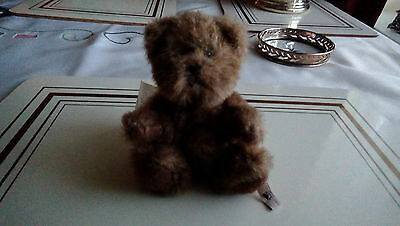 Boyds Bears Collection Teddy Bear 1988-2006 approx 4 inches cute.