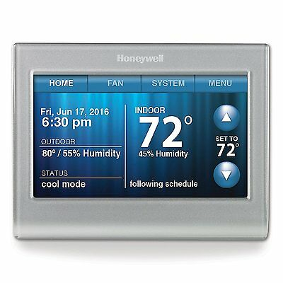 Honeywell RTH9580WF Smart Wi-Fi 7 Day Programmable Color Touch Thermostat NEW