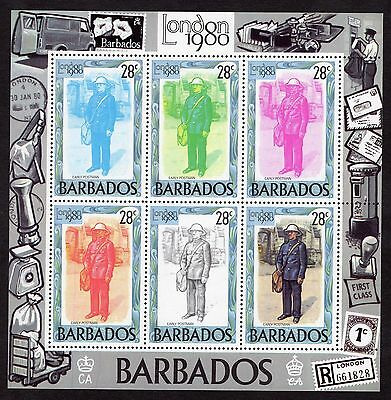 1980 Barbados London 1980 Int Stamp Exhibition SGMS659 MNH R31180