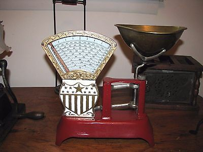 ANTIQUE  NATIONAL STORE SPECIALTY Co. CANDY STORE SCALE / 2 lb Scale