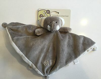 BNWT Elli & Raff Elephant Comforter Soother Baby Blanket Toy Comfort Cuddle Soft