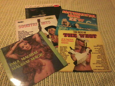 Bulk Lot Vinyl Lp Records Various Artists Cheesecake Covers