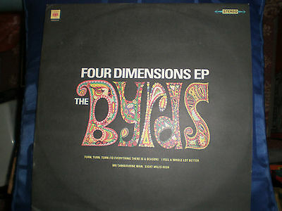 """The Byrds - Four Dimensions - 1990 Cbs Label 12"""" Ep - Exc."""