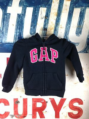 Baby GAP Zip Front Hooded Sweatshirt Jacket Size 5T