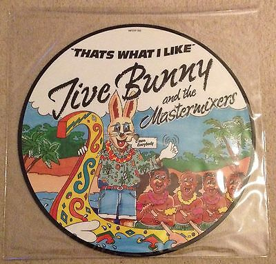 "Jive Bunny And The Mastermixers - That's What I Like 12"" Single Picture Disc"