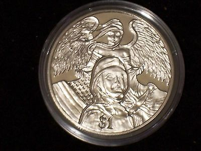 2016 British Virgin Islands $1  1 Oz Proof  Angel  Watchover our Troops