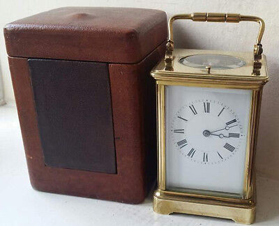 Stunning Henri Jacot Striking Repeater with Travel Case & Key Very Rare