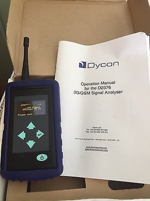 Dycon D2376 3G/GSM SIGNAL ANALYSER Mobile Phone Wifi