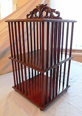 antique vintage victorian small book case featured on TV antiques show B