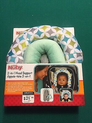 nuby head support