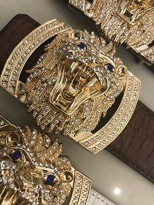New Lions Diamonds  Designer H Belts , Designer Belts For Men,  H Belt, Leather