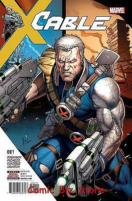 Cable  #1 (2017) 1St Printing Bagged & Boarded Marvel X-Men