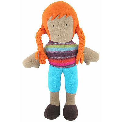 "Cate and Levi 15"" Handmade The Cate Doll Red Hair (Colors Will Vary) - CND"