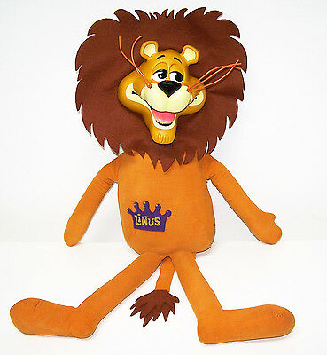Vintage LINUS THE LIONHEARTED Stuffed DOLL 1965 MATTEL Mute No Pullstring
