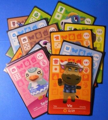 Animal Crossing Happy Home Designer Amiibo cards (choose from list, series 3)