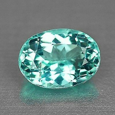 1 Cts Dazzling Top Quality Neon Blue Color Natural Apatite Gemstones