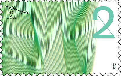 US 4718 Two Dollar Waves of Color $2 single MNH 2012