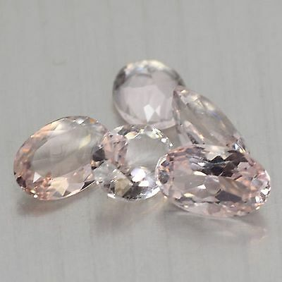 3.95 Cts Sparkling Top Quality Aaa Pink Color Natural Kunzite