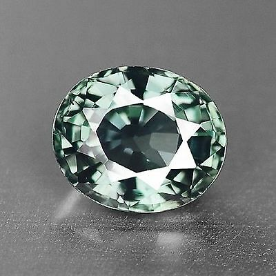 0.85 Cts Very Rare Top Quality Green Color Natural Sapphire Gemstones-Vs