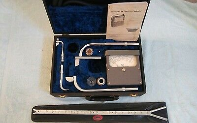 Vintage FPM Alnor Type 3002 Velometer w/ Hard Case & Accessories - Serial #22740