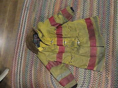 Globe Firefighter Suits Fire Fireman Turnout flannel Coat Jacket safety Gear 42