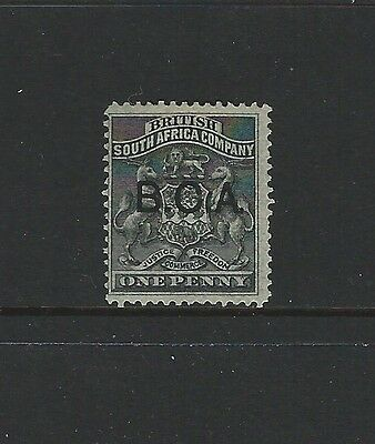 British Central Africa - Bca #1 (1891) Unused Ng