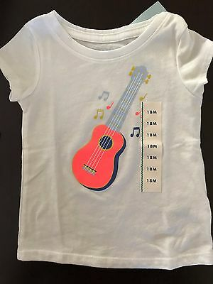 NWT Baby Girl Top T-shirt Tee 18M Cat and Jack