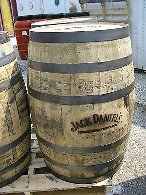 Memorial Day Special- JD Authentic Branded Whiskey Barrel-FREE SHIPPING
