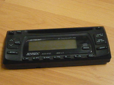 Jensen xcd 9722 stereo cd rw faceplate face plate tested good jensen xcd 9722 stereo cd rw faceplate face plate tested good guaranteed publicscrutiny Image collections