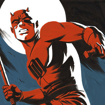 Daredevil: Man Without Fear Original Art by Michael Cho cover quality commission