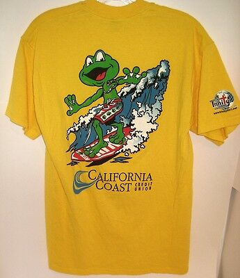 Southern California Country Radio Station KFRG Summer 2006 SURFING FROG Shirt M