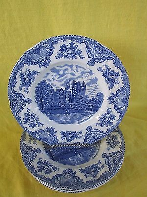 Johnson Brothers Old English Castles (blue) DINNER PLATES (s) have more items