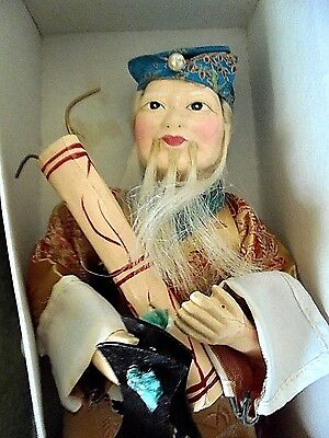 """Vintage Chinese Doll """" CHANG KUO LAO """" by Tripod Trademark   50s"""