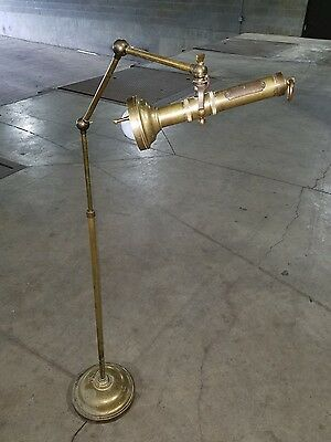 Rare Chapman Brass Flashlight Floor lamp *(ASK FOR A SHIPPING QUOTE)*