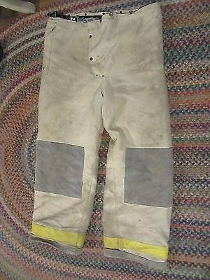 Janesville Lion Apparel Firefighter Pants Turnout Gear Size 40L snap in liner