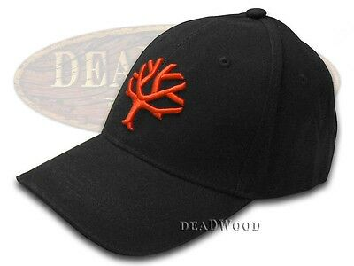 BOKER TREE BRAND Black and Red 100% Cotton Hat Baseball Cap