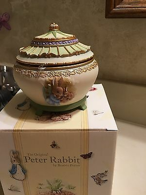 Peter Rabbit By Beatrice Potter San Francisco Music Box  New In Box