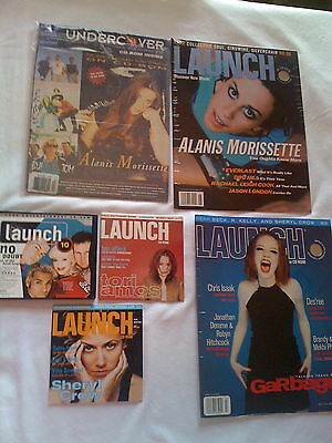 CD ROMs launch UNDERCOVER Alanis Green Day Primus no DOUBT Tori Amos Sheryl Crow