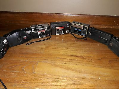 Lot of SEVEN Kodak and Magimatic cameras