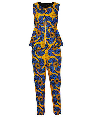 Canill Ankara Spin Top & 3/4 Trouser Set - Yellow / Red variant