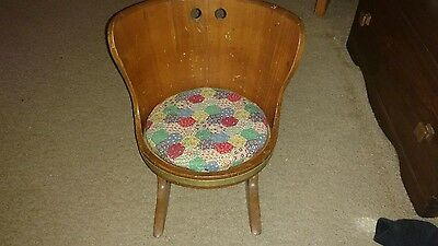 antique childs rocker