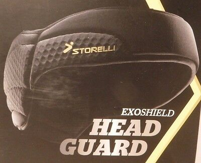 Storelli ExoShield Head Guard Advanced Soccer Protection Multiple Size - New