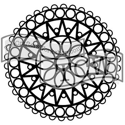 TCW - Stencil 6in. x 6in. - Stained Glass