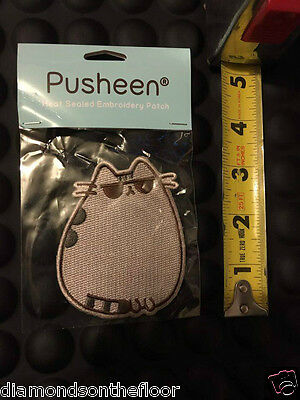 Pusheen box Embroidery Patch From Exclusive Subscription Box Kawaii Cat New