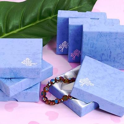 10 Pieces Paperboard Bracelet Bangle Display Box Case Show Case Lot Findings