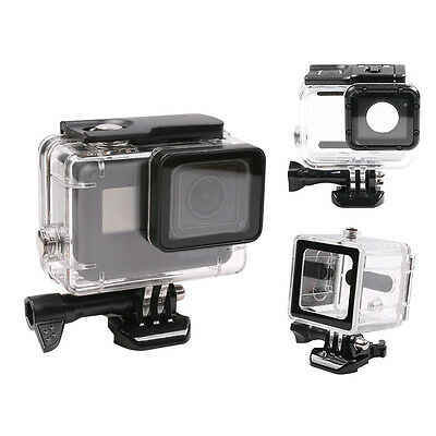 Waterproof 40m Diving Housing Case Cover Protector For GoPro Hero 5 Camera Clear