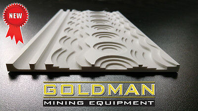 "NEW GOLD MATTING 15.75""X7.87"", Sluice Box Matting, Gold Panning"